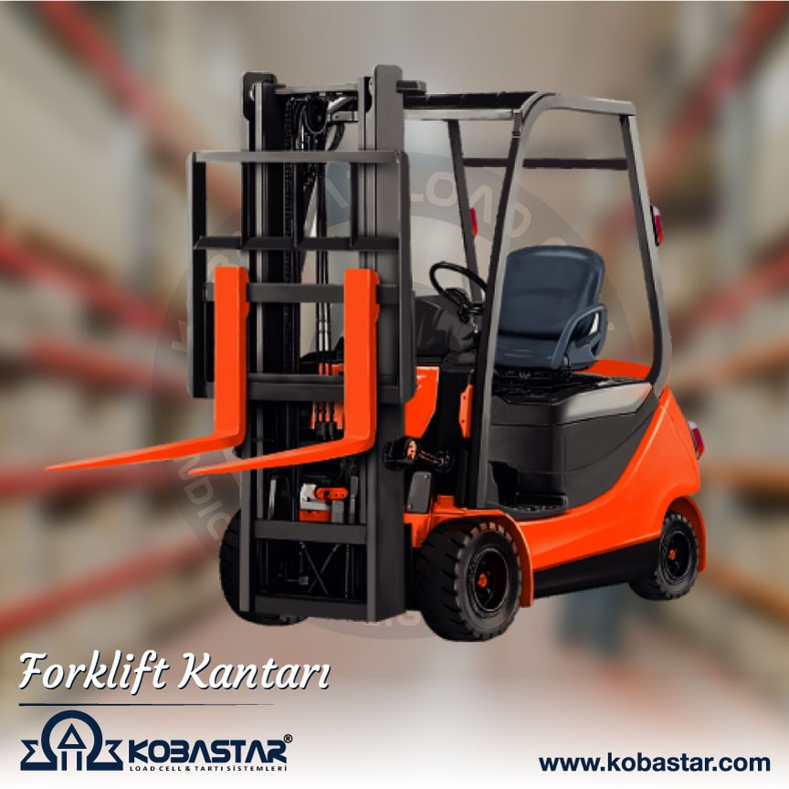forklift kantarı, Forklift Kantarı, KOBASTAR Load Cell & Indicator