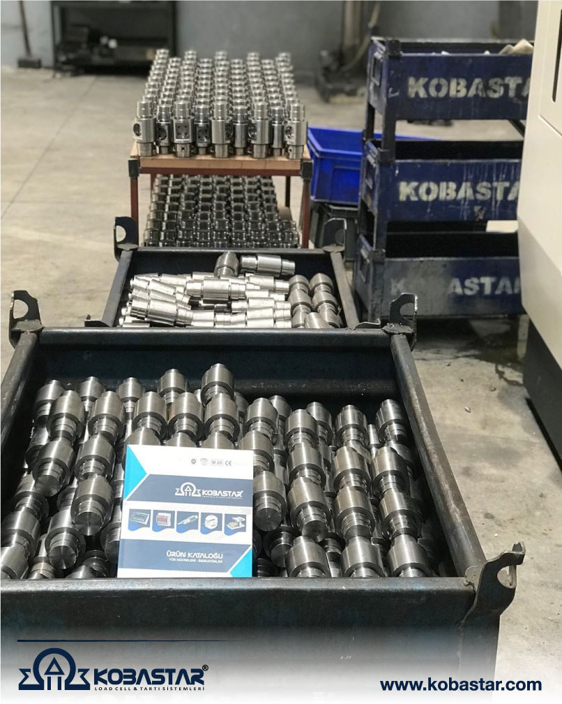 loadcell, LOADCELL NASIL ÇALIŞIR?, KOBASTAR Load Cell & Indicator