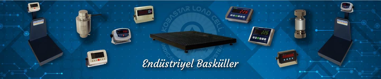 Endüstriyel Basküller, Endüstriyel Basküller, KOBASTAR Load Cell & Indicator