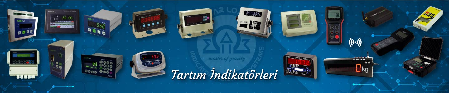 Tartım İndikatörleri, Tartım İndikatörleri, KOBASTAR Load Cell & Indicator