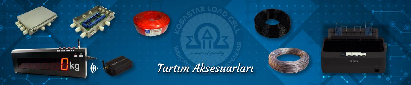 Tartım Aksesuarları, Tartım Aksesuarları, KOBASTAR Load Cell & Indicator